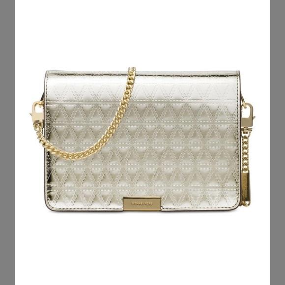 4450f6669717 Michael Kors Bags   Jade Medium Gusset Leather Clutch   Poshmark